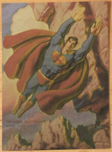Supreme Collector Cards - H-2 Superman: Tribute To Jack Kirby - HILDEBRANDT
