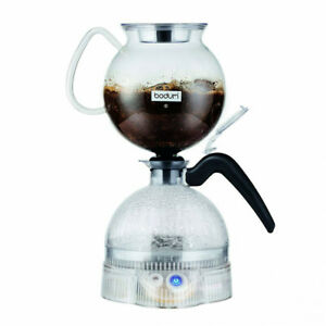 Bodum Epebo Coffee Maker, Electric Vacuum Siphon Brewer - 11744, 34 Ounces 8 Cup