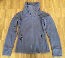 Bench Jacke Gr. M Fleecejacke Pulli Grau Hoodie Zip Damen Frauen Pullover