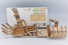 Robotic Hand - WOODTRICK 3D Mechanical Wooden Model for self assembly