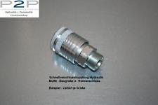 Kupplungsmuffe Hydraulik Gr.3 15L (M22x1,5)  Steckkupplung