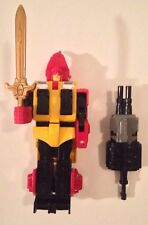 Vintage Transformers: G1 HEADSTRONG w/ Sword & Predaking Razorclaw Large Gun