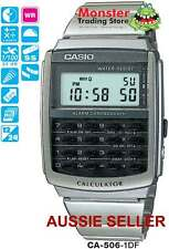 AUSSIE SELLER CASIO WATCH CALCULATOR CA-506-1DF CA506 CA53 12 MONTH WARRANTY