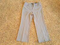 NEW NWT ALFANI Womens Gray Trouser Dress Pants 6 Petites 6PS