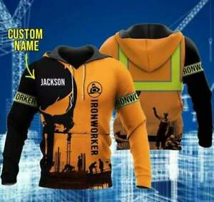 I Am Ironworker 3D Hoodie All Over Printed S-5XL Fathers Day, Mothers Day Gift