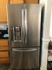 Lg 24 cu. ft. French Door Refrigerator, Bottom Freezer, Stainless -Lfxs24663