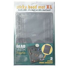 Large Beadsmith Sticky Bead Mat Double Sided 22x31cm XL (H103/3)