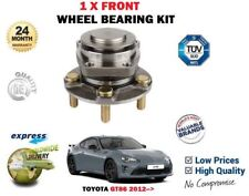 FOR TOYOTA GT86 2.0 COUPE FA20 2012-> NEW 1X FRONT WHEEL BEARING KIT
