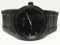 """Nixon Shoot to Thrill """"The Cannon"""" SS Black Tone Black face Men's Wrist Watch"""