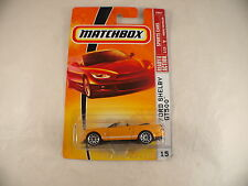 Matchbox Sports cars n°15 2007 Ford shelby gt500