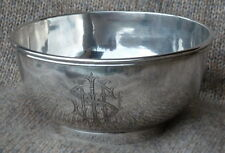 Henry Steiner Silversmith in Adelaide: Personalized Silver Bowl