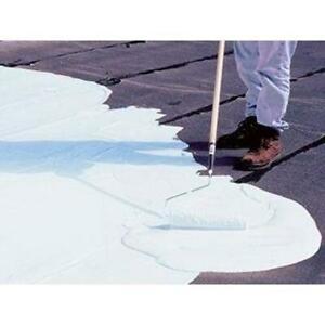 Gardner Reflective Roof Coating 5 Gal. Elastomeric Water Based Crack Proof White