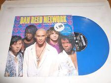 """DAN REED NETWORK - Lover / Money - 1990 UK BLUE VINYL 4-track 12"""" vinyl Single"""