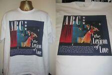 ABC- THE LEXICON OF LOVE - ALBUM ART  PRINT T SHIRT- WHITE - LARGE