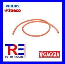 TUBO SILICONE RETINATO MACCHINA DEL CAFFE' SAECO 5X8,9 16000380 996530009505