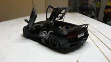 1/18 AutoArt Lamborghini Murcielago LP670-4 SV Matte Black/Nero Nemesis 74618