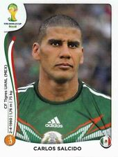 Panini Sticker Fußball WM 2014 Nr. 82X Carlos Salcido Mexico Bild NEU Worldcup