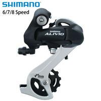 Shimano Alivio RD-M410 6/7/8 Speed MTB Bicycle Rear Derailleur Black New US