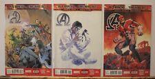 Marvel Comics New Avengers Inhumanity 3 Issues 28, 29, 30. New sealed. Mint.