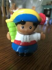 New ListingFisher Price Little People Pirate Replacement Figure Pirate Boy W/Spyglass