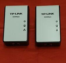 TP-LINK TL-PA411 AV500 Mini Powerline Adapters (2x) UKPlug