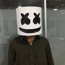 MarshMello DJ Mask Full Head Helmet Halloween Cosplay Mask Bar Music Party Props