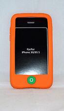 Silikon Hülle orange passend  für iPhone 3G 3GS   NEU