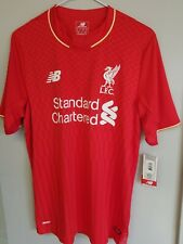 New Balance Liverpool 15/16 Home Jersey Brand New size small