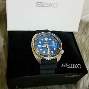 Seiko Prospex  King Turtle  Blue Dial Automatic Diver's Watch SRPE07