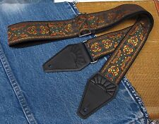 CELTIC HIGHLANDS Cotton USA made TROPHY Guitar Strap
