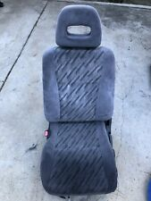 99-00 Honda Civic SI DRIVER FRONT SEAT TYPE K CLASSY GRAY OEM