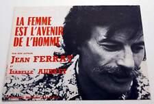 Partition sheet music JEAN FERRAT : La Femme est l'Avenir de l'Homme * 70's