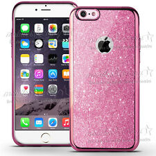 Luxury Bling Glitter Shockproof Soft Silicone Case Cover For iPhone 5s 6S 7 Plus