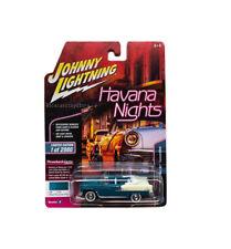 JOHNNY LIGHTNING 1/64 HAVANA 1955 CHEVROLET BEL AIR CONVERTIBLE JLCP7104-24
