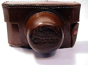 Canon Rangefinder  IVSb (IVS2) Leather Case   Needs Repair   No 146  