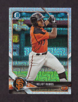 2018 Bowman Chrome Mega Box HELIOT RAMOS Mojo Refractor Mint Giants