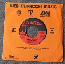 Michel Polnareff, une simple mélodie / le cigare à moteur, SP - 45 tours promo