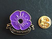 Limited 2019 Remembrance Day World War Peace  Poppy Enamel Pin Badge Brooch