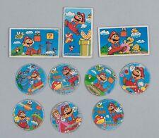 Vintage Japanese Super Mario Menko Cards Anime Manga Lot of 10