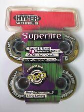 Hyper Wheels Superlite Inline Skate Roller Blades Wheels 82A 4-Pack Made USA NOS
