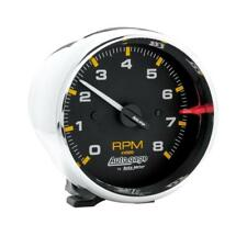 """Auto Meter Tachometer Gauge 2301; Auto Gage 0 to 8000 RPM 3-3/4"""" Electrical"""