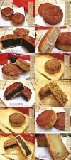 Moon cake Chinese sweets Walnut,Sesam,Jujube,chestnut,Tree fruit,Azuki Free ship