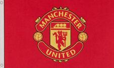 MANCHESTER UNITED FLAG 5' x 3' Official Football Club FC Team Man Utd Man U