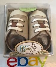Brand NEW Baby Deer Crawling Stage Size 3 Infant Crib Shoes, Genuine Leather