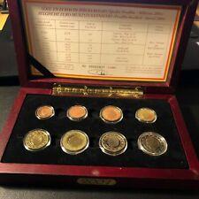 Belgie Proofset 2001 Proof set 1 cent t/m 2 euro - Belgique Belgium bu unc