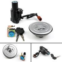 Ignition Switch Fuel Gas Cap Cover Key Lock Set For Honda CB500 F/R/X CBR500R PP