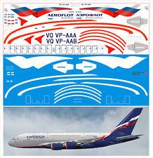 1/144  PAS-DECALS. Revell. Airbus A-380 AEROFLOT