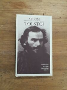 ALBUM TOLSTOJ - I MERIDIANI, MONDADORI - 1994 PRIMA EDIZIONE