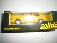Vw Golf 1 Postes PTT Suisse 1/43 Solido 19 Neuf boite Volkswagen RARE