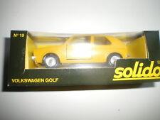 Vw Golf 1 Postes Suisse 1/43 Solido 19 Neuf boite Volkswagen RARE